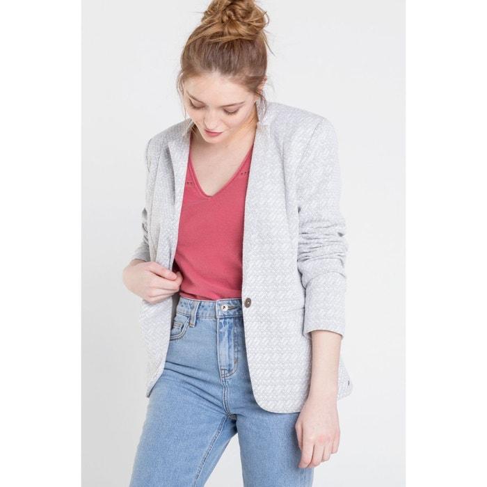 Veste Blazer Femme,À La Mode Ancien Payé Bouton Décontractée
