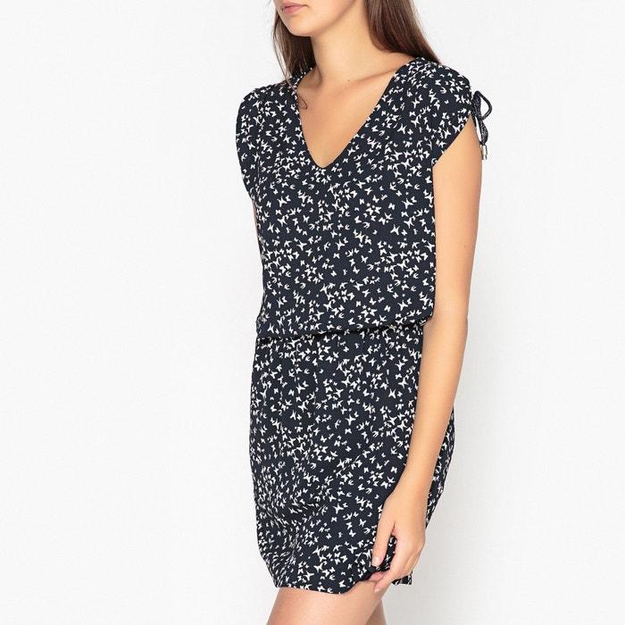 Платье в полоску укороченное с короткими рукавами  IKKS image 0