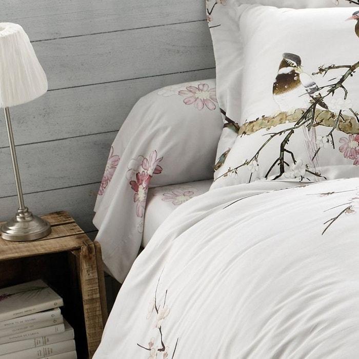 drap housse sakura craie tradition des vosges la redoute. Black Bedroom Furniture Sets. Home Design Ideas