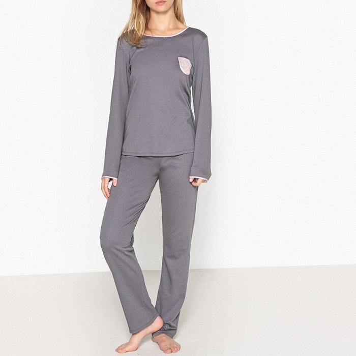 Pyjama en coton, manches longues, Exquise  LE CHAT image 0