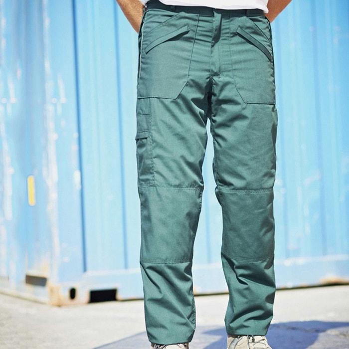 pantalon de travail imperm able homme vert regatta la redoute. Black Bedroom Furniture Sets. Home Design Ideas