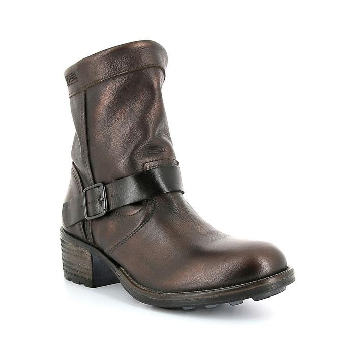 Boots cuir marron P-L-D-M-By Palladium