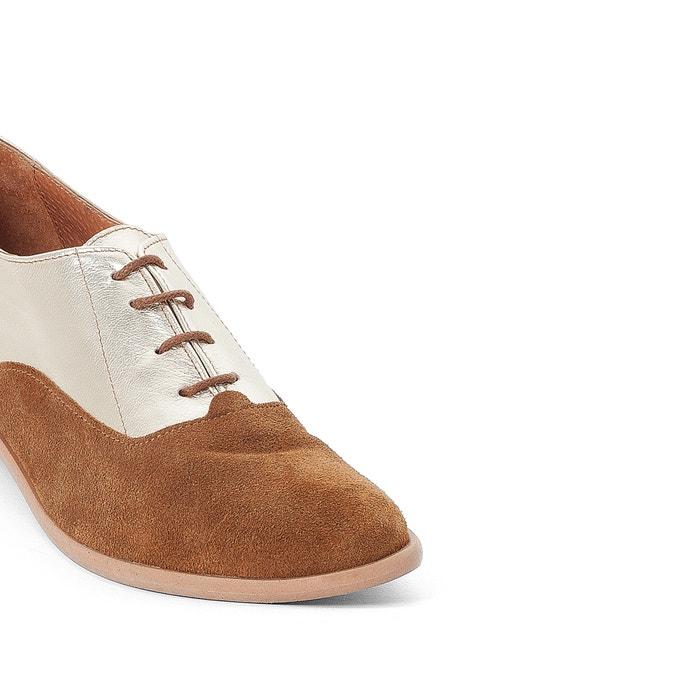 materias dos La piel Zapatos Collections Redoute de derbies 0ZfH7nZ