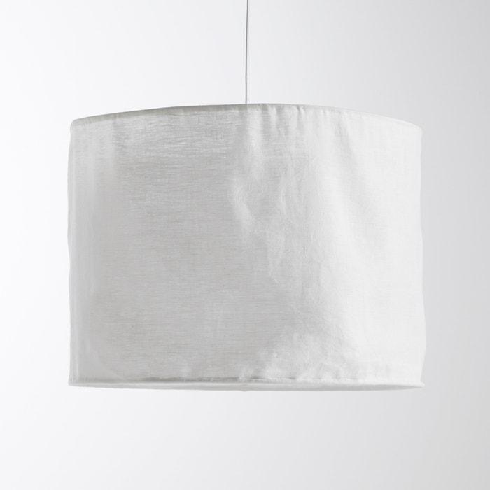 Lampadario in lino stropicciato, THADE  La Redoute Interieurs image 0