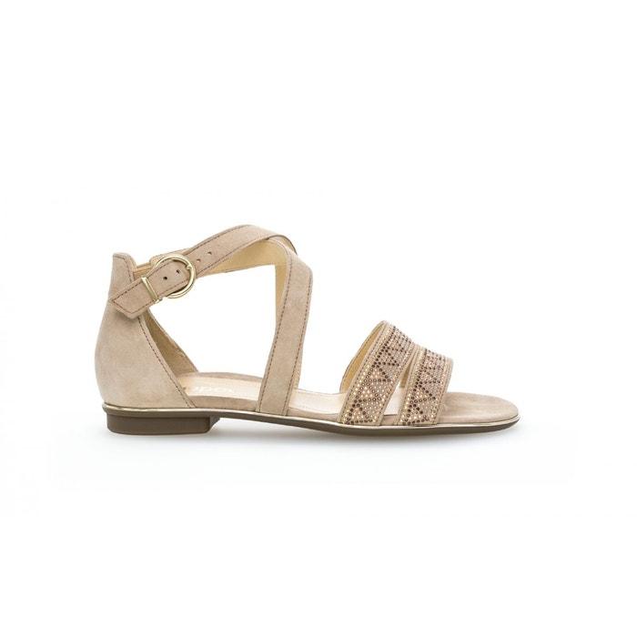 Sandales camel Gabor