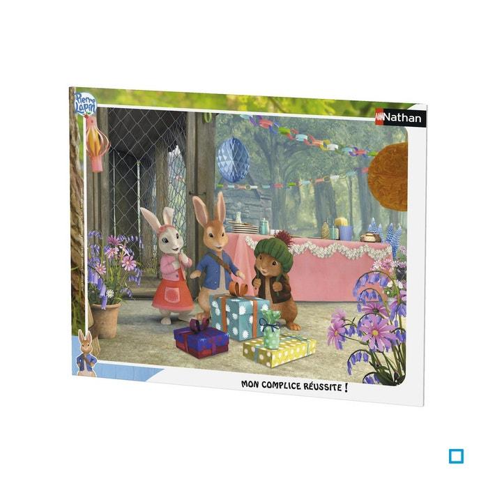 Puzzle Cadre 35 Pieces Pierre Lapin Joyeux Anniversaire Lily