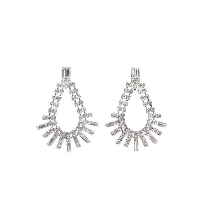 Boucles d'oreilles joannie transparent Reine Rosalie   La Redoute parfait uhM6s1Ecg