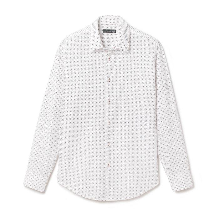 Printed Fitted Shirt  CASTALUNA FOR MEN image 0