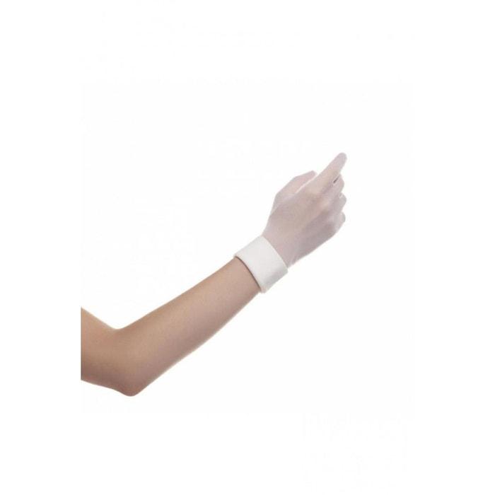 gant femme court uni pour mariage blanc dymastyle la redoute. Black Bedroom Furniture Sets. Home Design Ideas