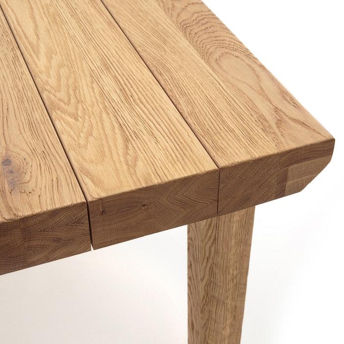 Torezia Solid Oak Table - 6-8 People