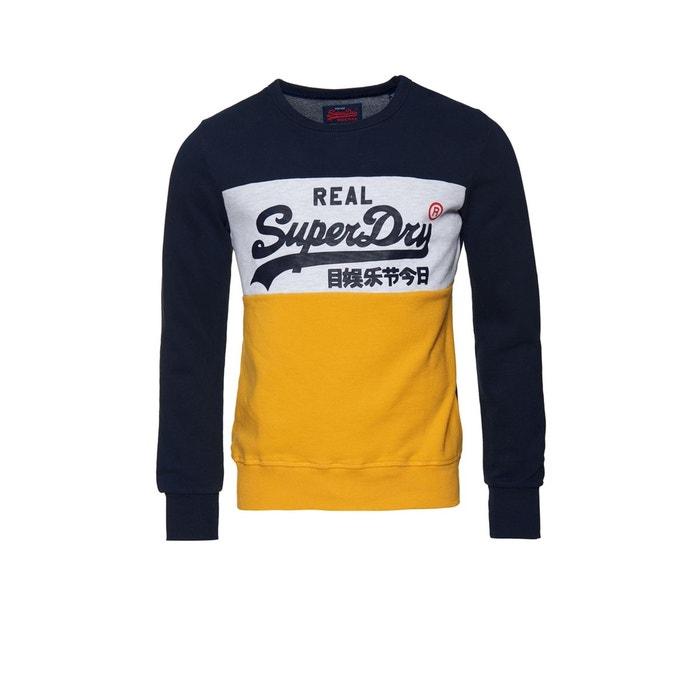 Sweat-shirt ras du cou à logo vintage SUPERDRY