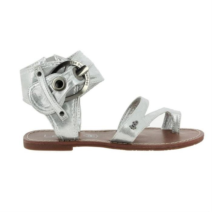 Sandales  /  nu-pieds synthetique  argent Lpb Shoes  La Redoute