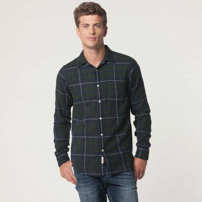 chemise carreaux jack bleu vert bellerose la redoute. Black Bedroom Furniture Sets. Home Design Ideas