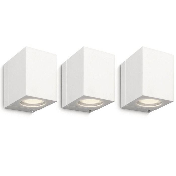 Pack Murale Luminaire Ecomoods Philips 332183116 Cubique 3 De Applique 3j54ARLcq