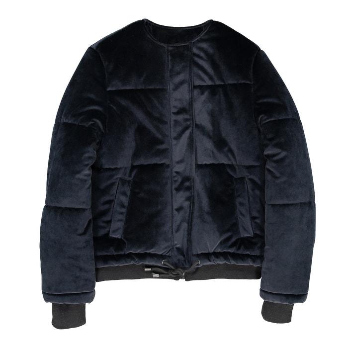 фото Куртка стеганая велюровая La Redoute Collections