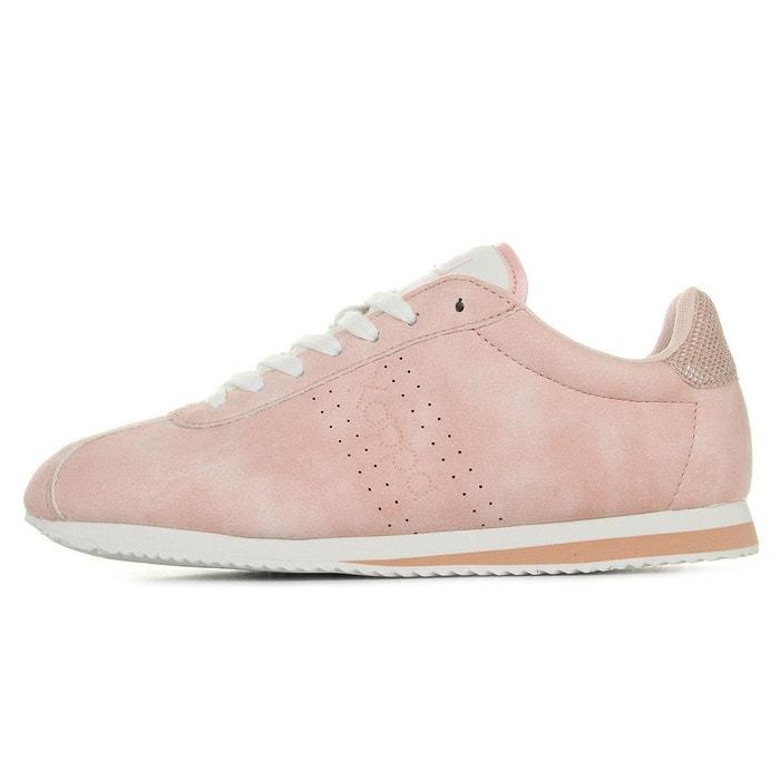 Baskets femme kinsley wo pink rose/blanc Kappa