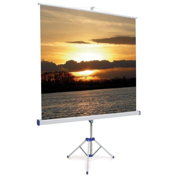 ecran de projection oray byron trepied 180x180 couleur. Black Bedroom Furniture Sets. Home Design Ideas