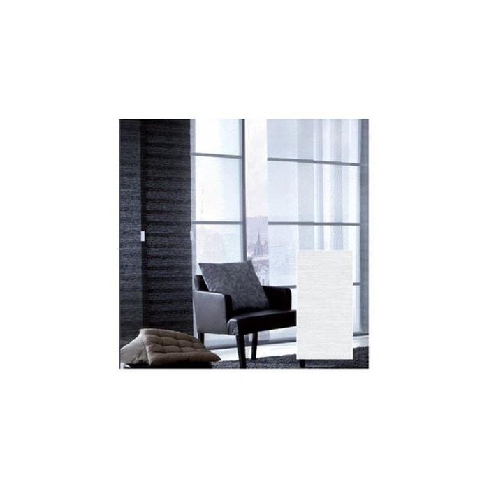 panneau japonais tamisant paille tiss e madeco la redoute. Black Bedroom Furniture Sets. Home Design Ideas