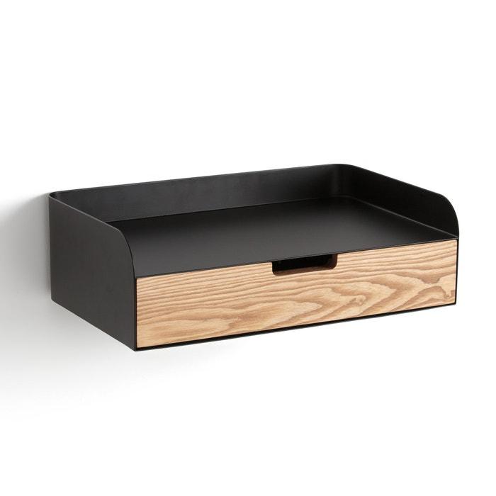 Etag re murale reza noir la redoute interieurs la redoute - La redoute meubles rangement ...