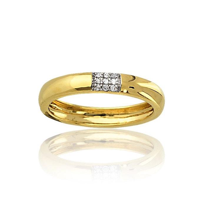 Bague or 375/1000 diamants blanc Cleor | La Redoute Pas Cher Abordable Magasin De Vente Stocker Prix Pas Cher réal Livraison Gratuite Q9Hjc