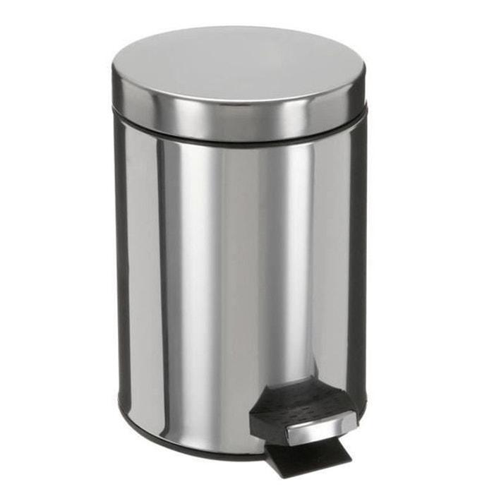 poubelle 3 litres inox frandis la redoute. Black Bedroom Furniture Sets. Home Design Ideas