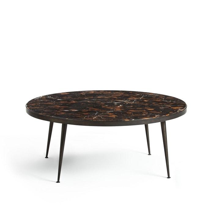 table basse plateau marbre ambr madrigal marbre ambr am pm la redoute. Black Bedroom Furniture Sets. Home Design Ideas