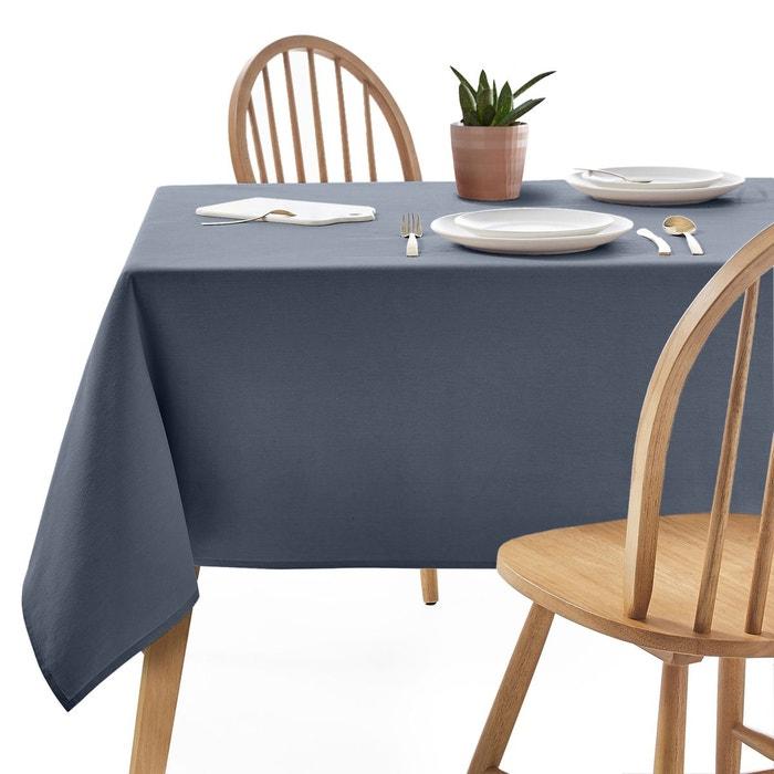 nappe unie pur coton serg trait anti taches scenario en solde la redoute. Black Bedroom Furniture Sets. Home Design Ideas