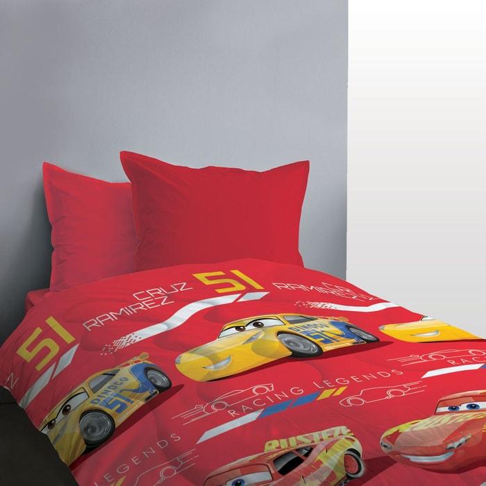 couette imprim e cars legends rouge cars la redoute. Black Bedroom Furniture Sets. Home Design Ideas