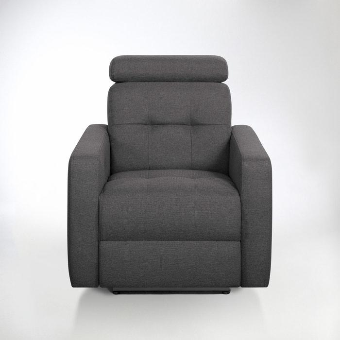 Image Fauteuil de relaxation électrique Julema en tissu chiné La Redoute Interieurs