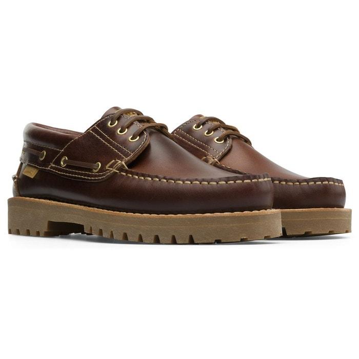 Chaussures bateau cuir NAUTICO