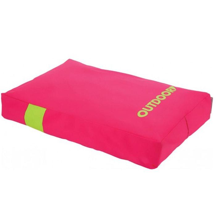 coussin d houssable outdoor 100 cm pour chien rose couleur unique zolux la redoute. Black Bedroom Furniture Sets. Home Design Ideas