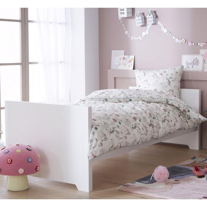 lit enfant blanc 90x200 charline alexis blanc alfred et compagnie la redoute. Black Bedroom Furniture Sets. Home Design Ideas
