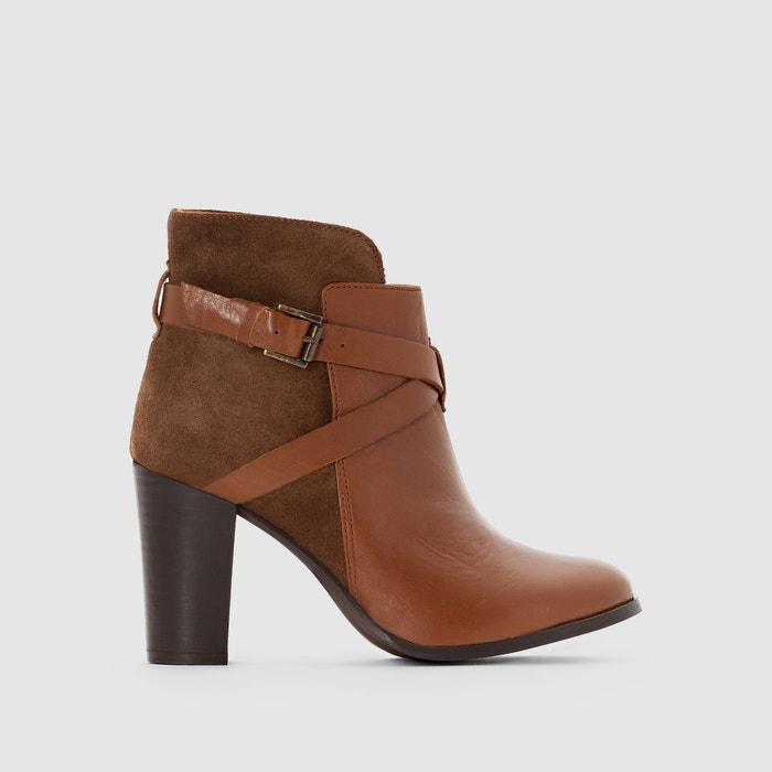 Image Boots cuir à bride Drakos JONAK