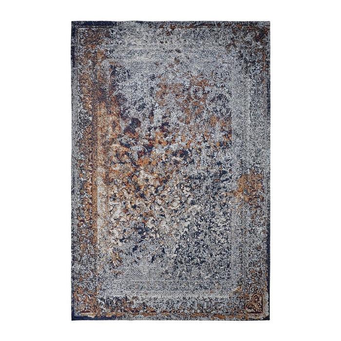tapis rectangle plat vintage bleu marine riso bleu marine deladeco la redoute. Black Bedroom Furniture Sets. Home Design Ideas