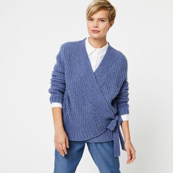 magasin en ligne 4cc68 d56a5 Cardigan cache-coeur contenant de la laine