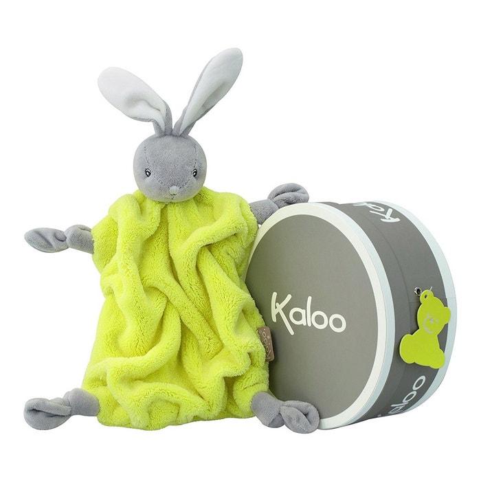 Kaloo n on doudou lapin jaune fluo kaloo la redoute for Neon pour chambre
