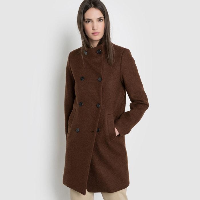 Image 30% Wool Coat R essentiel
