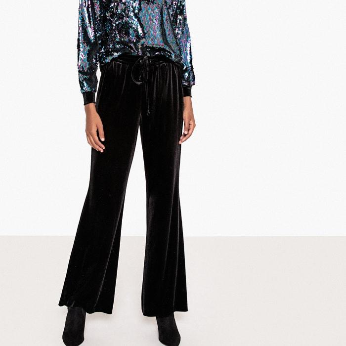 Pantaloni larghi velluto  La Redoute Collections image 0