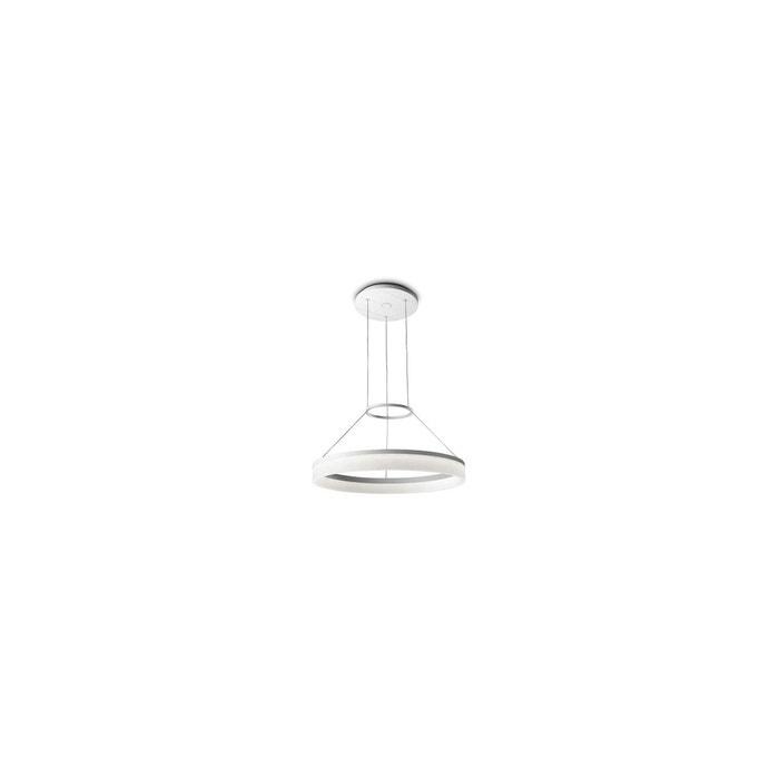 grande suspension design circ blanc leds c4 la redoute. Black Bedroom Furniture Sets. Home Design Ideas