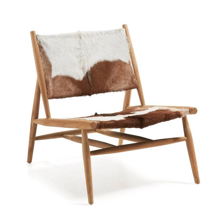 Fauteuil eki blanc kavehome la redoute - La redoute fauteuils ...