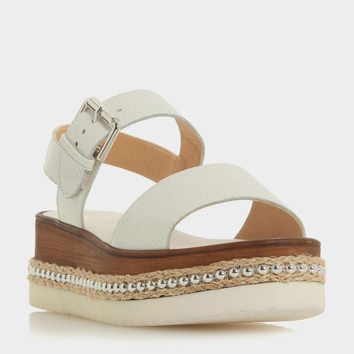Sandales compensées à semelles plateformes - kool  Dune London  La Redoute
