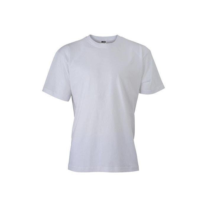 83cb7edbb64 Tee-shirt uni blanc Jn