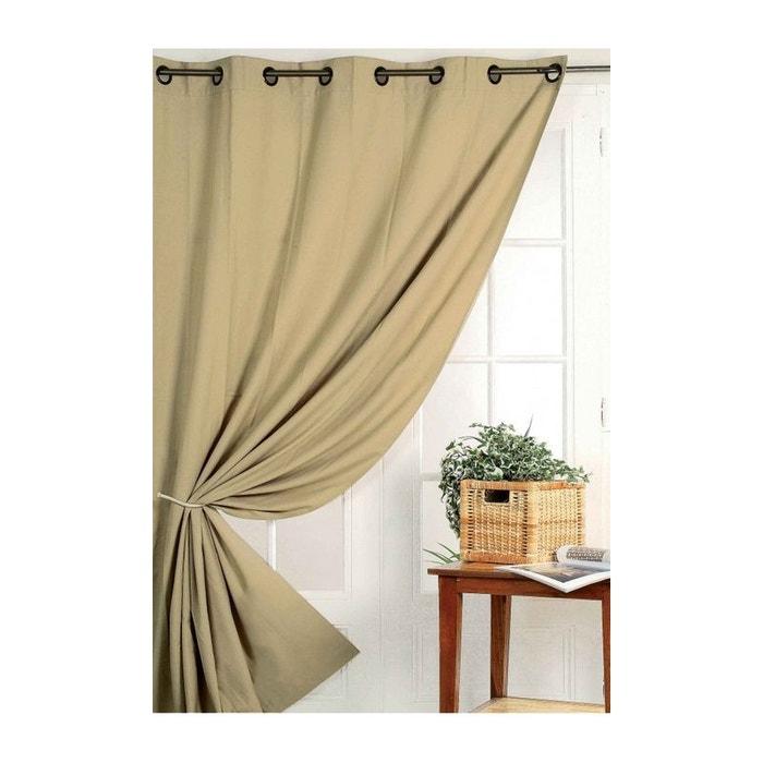 rideau 80 occultant vu sur d co home maison la redoute. Black Bedroom Furniture Sets. Home Design Ideas