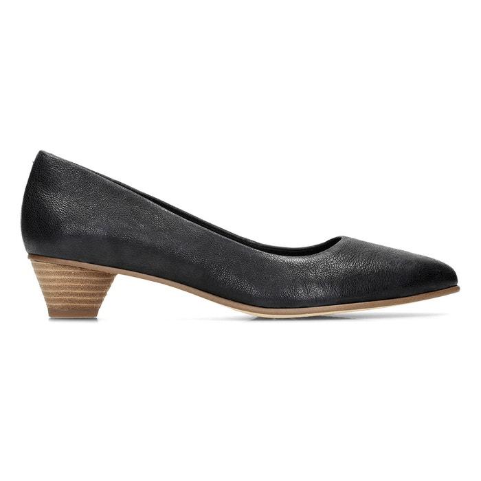945dd87d2af3 Mena bloom leather heels