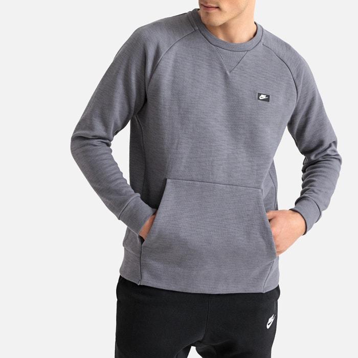 ed58709ce Sudadera con cuello redondo optic fleece gris Nike