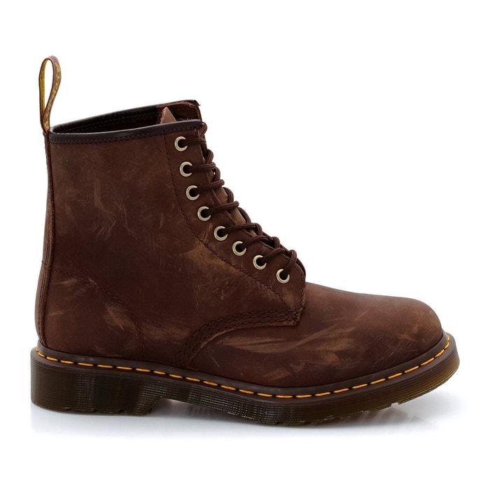 Style De Mode À Vendre Bottines en cuir marron Dr Martens Livraison Gratuite À Faible Coût u8QoDrQyC