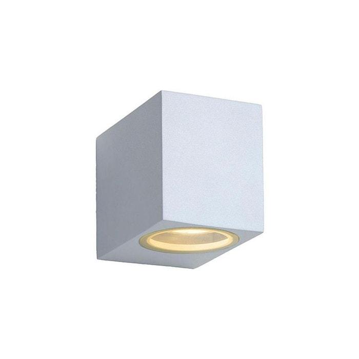 zora applique led d 39 ext rieur blanc h8cm blanc lucide la redoute. Black Bedroom Furniture Sets. Home Design Ideas