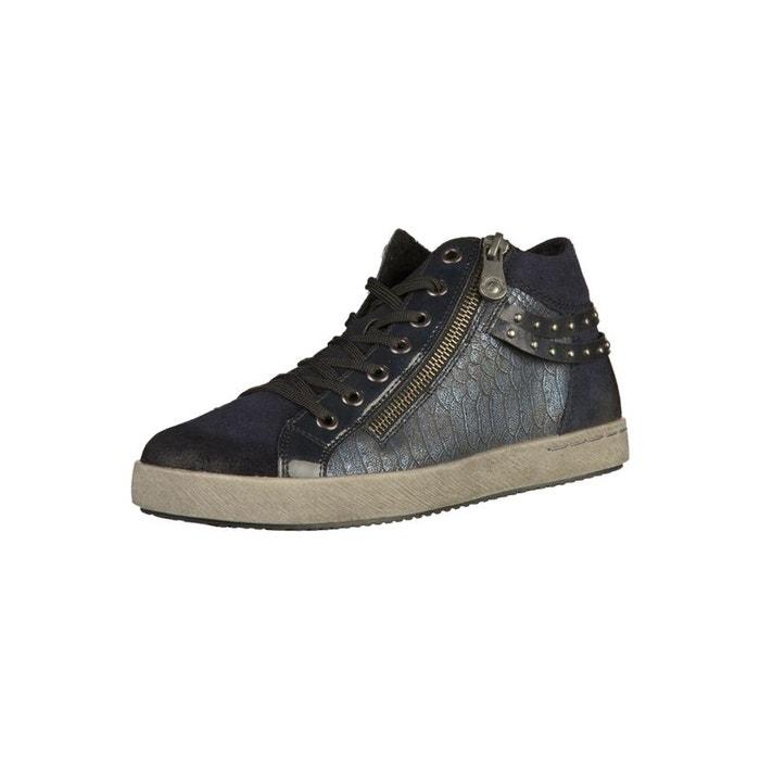 Sneaker bleu Remonte Gros Rabais 7FWQD3
