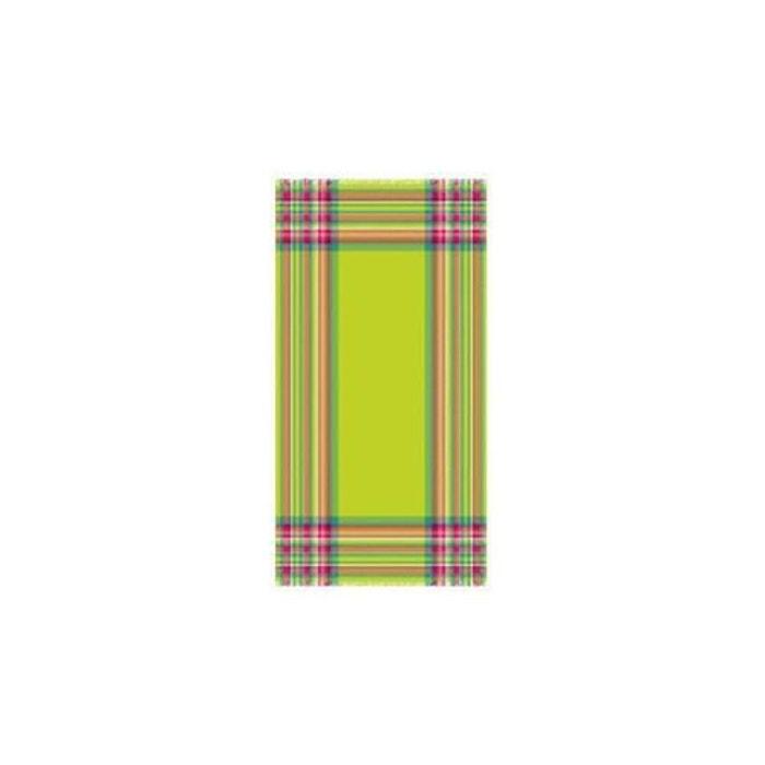 fouta bordure madras vert lasa home la redoute. Black Bedroom Furniture Sets. Home Design Ideas