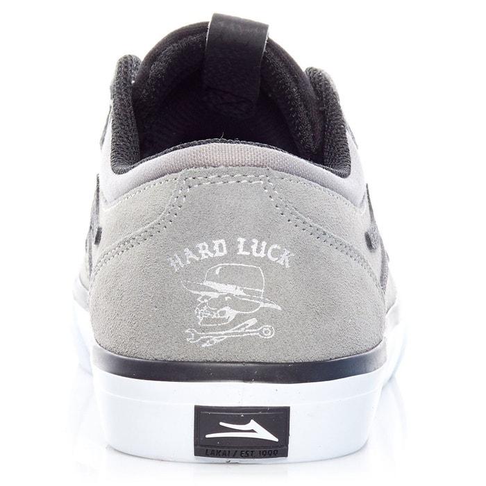 Chaussure griffin x hard luck gris Lakai